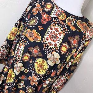 Vintage See by Chloe Silk Floral Dress